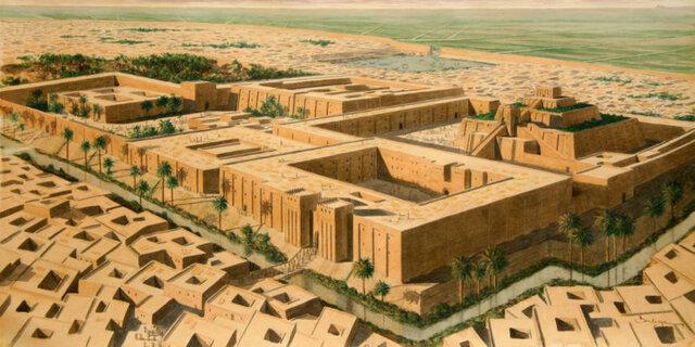 Creación de Mesopotamia