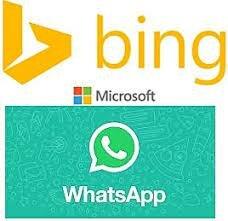 Se crea WhatsApp y el buscador de Internet de Microsoft Bing