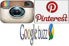 Aparecen Instagram, Pinterest y Google Buzz