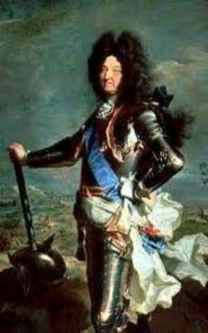 Comienzo del reinado de Luis XIV