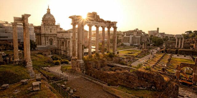 Creación del imperio Romano