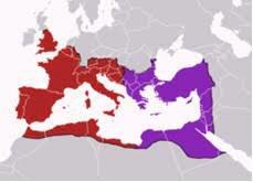 Fragmentación del imperio Romano