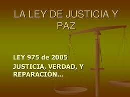 LEY 975 DE 2005
