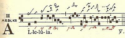 Etapas de la notación musical