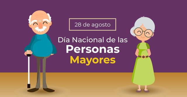 Día Nacional del Adulto Mayor y del abuelo.