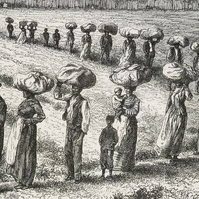 Timeline of  Slavery in North America