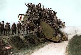 Estados Unidos en la I Guerra Mundial 1917