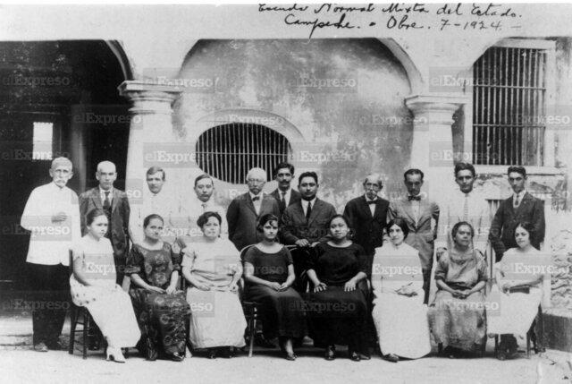 Escuela Nacional de Profesores 1926
