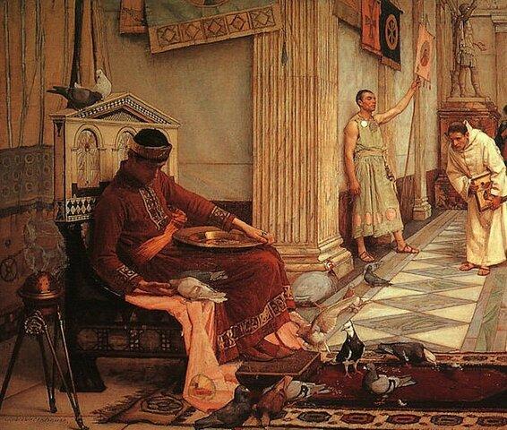 Odoacre depone l'ultimo imperatore romano