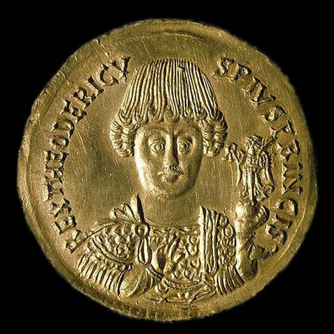 Teoderico re degli Ostrogoti in Italia