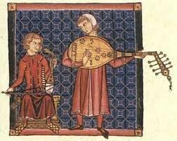 Juglares y otro músicos profesionales
