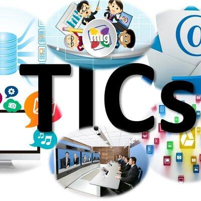 La evolución de las TICS timeline