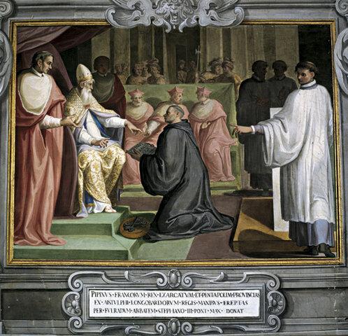Ravenna è parte dei possedimenti del papa