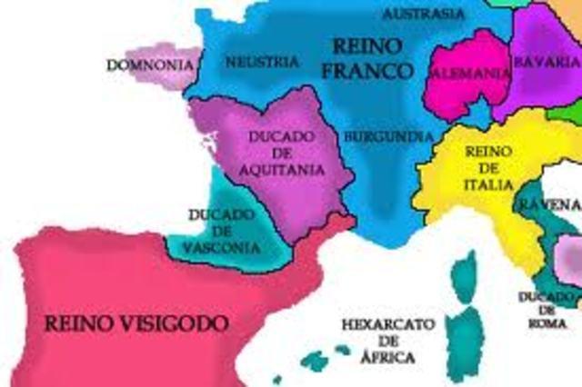 Invasión de los visigodos de la Península Ibérica