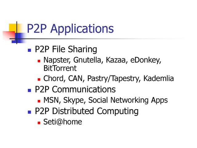 Las Redes P2P
