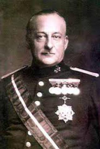 Dictadura de Miguel Primo de Rivera.