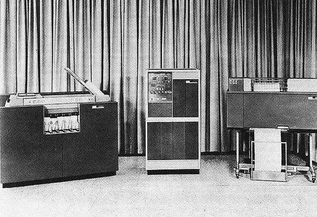 1958  Segunda generación de ordenadores