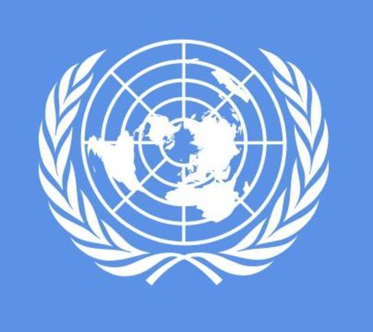 Creación de la ONU.
