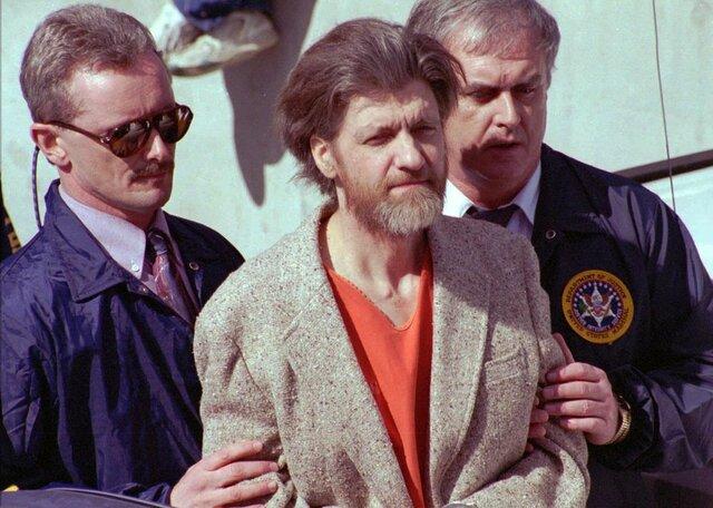 Ted Kaczynzki, el Unabomber fue detenido en Lincoln, Montana
