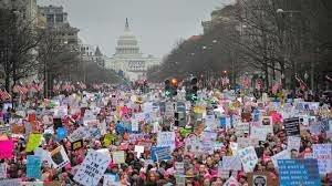 Gran marcha internacional por los derechos de la mujer