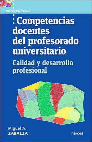 Zabalza, Perfil del docente universitario 2003