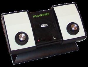 Atari Pong, 1975.