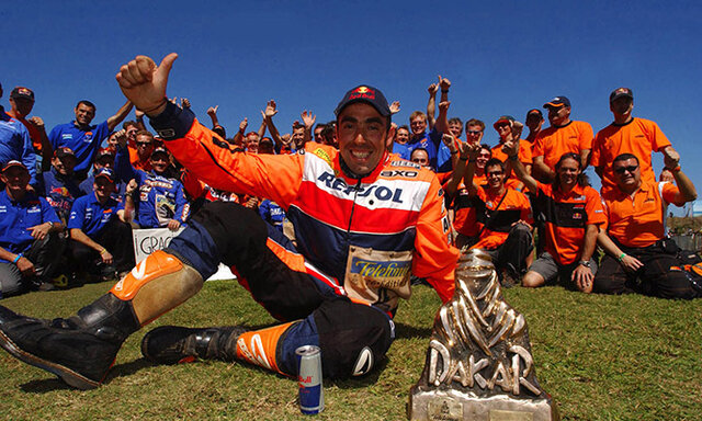 Nani Roma gana el Dakar
