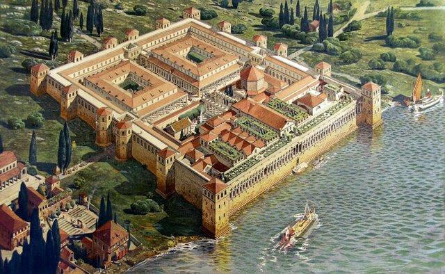 Palazzo di Diocleziano a Spalato