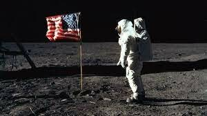 First Man to land on the Moon