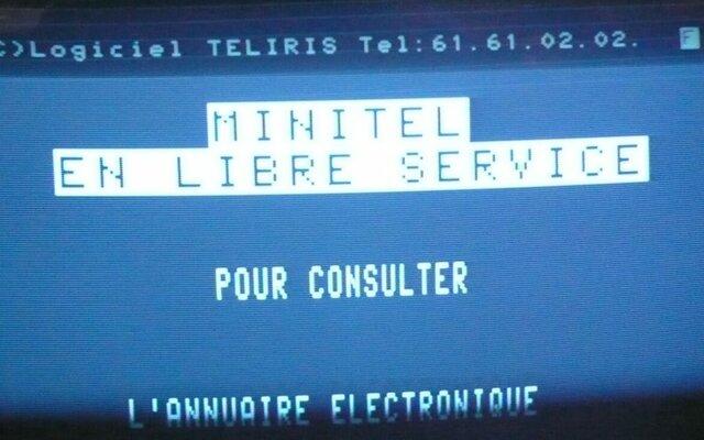 Éxito  de Minitel, Gobierno, Sitios.