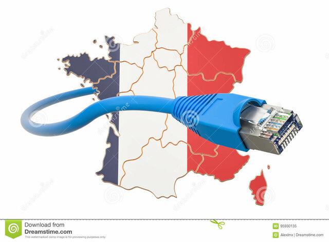 Internet avance de Francia 10 años antes que los americanos.