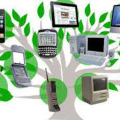Historia universal sobre la evolución de la tecnología. timeline