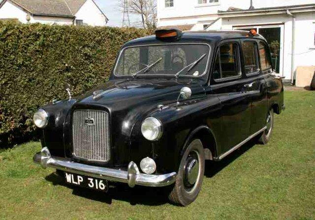 Primer taxi en Londres