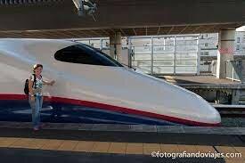 Trenes de alta Velocidad Japón
