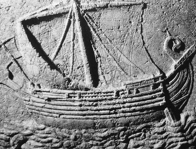 Navegación, Egipcios, Fenicios y Griegos.