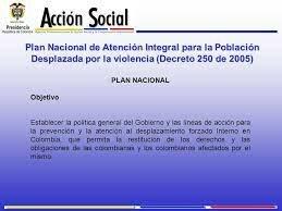 DECRETO 250 DE 2005