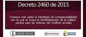 DECRETO 2460 DE 2015