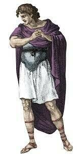 Tarquinio el Soberbio, último rey de Roma