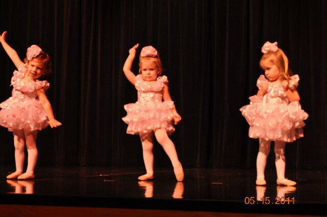 Doing Ballet (2 years old)