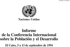 POBLACIÓN Y DESARROLLO CONFERENCIA INTERNACIONAL
