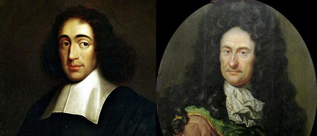 Racionalismo de Spinoza y Leibniz