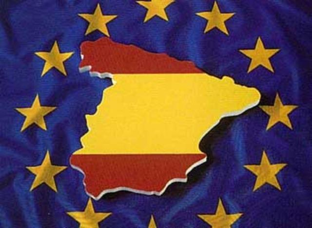 Ingreso de España en la Comunidad Europea