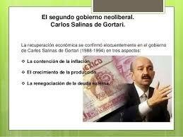 Gobierno de Carlos Salinas de Gortari (1988-1994)