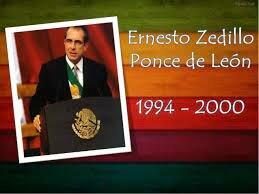 Gobierno de Ernesto Zedillo Ponce de León (1994-2000)