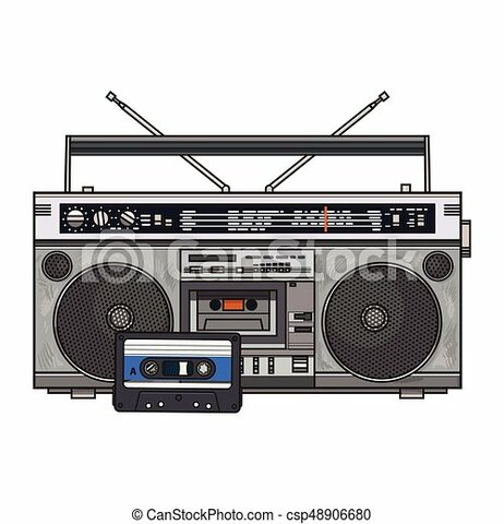 Cassette y Radiocasetera