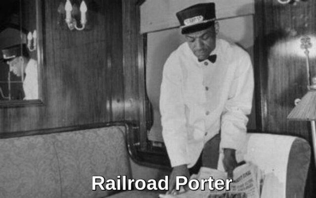 """""""The Railroad Porter"""""""