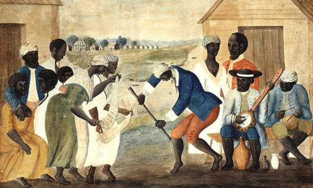 African Amerucans come to Jamestown .