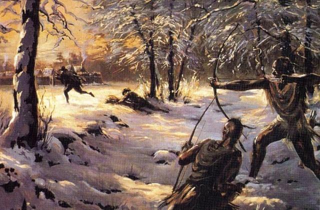 Powhatan killed Residents .
