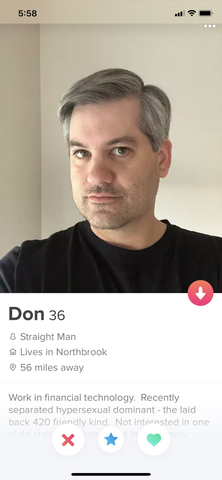 TINDER DON outed on the bakery