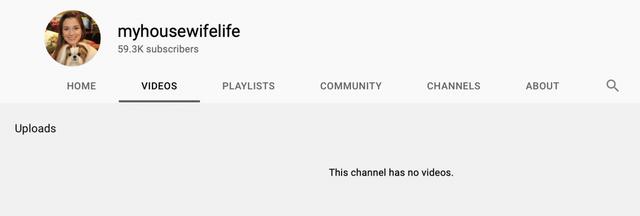 Jen sets MHWL videos to private ~7:17PM ET